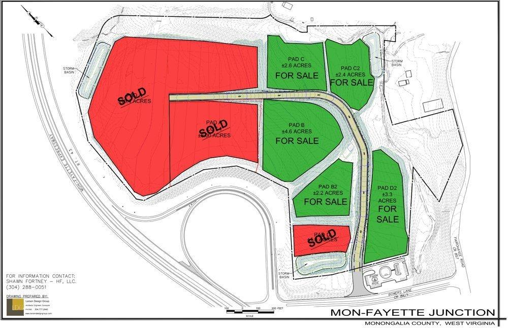 Monfeyette Junction Development Map